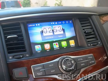 Установка навигационного блока Radiola RDL-NIS-08IT на Android 8 для Nissan / Infiniti 2010-2017