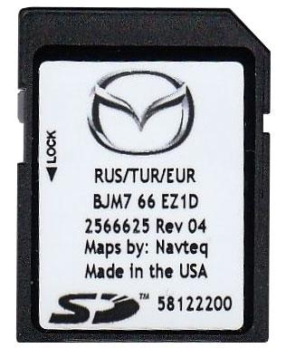 Обновление навигации Mazda Nb1 карты навигации Mazda Connect Gpsland обслуживание